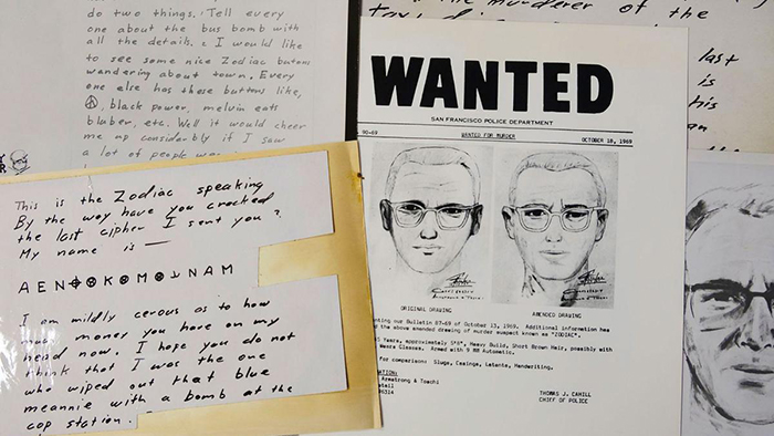 Cryptographers Decipher A Message From The Zodiac Killer