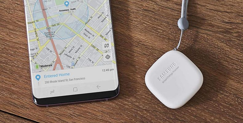 Samsung's tracking device